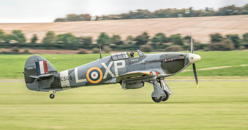 Hawker Hurricane Mk IIB BE505 #panning at 1/160th. By David Stoddart