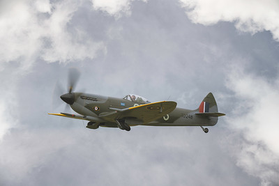 Supermarine Spitfire Mk XVI (G-OXVI) at Flying Legends 2019  By David Stoddart