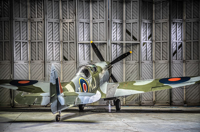 Supermarine Spitfire KJ-I SM520 By David Stoddart