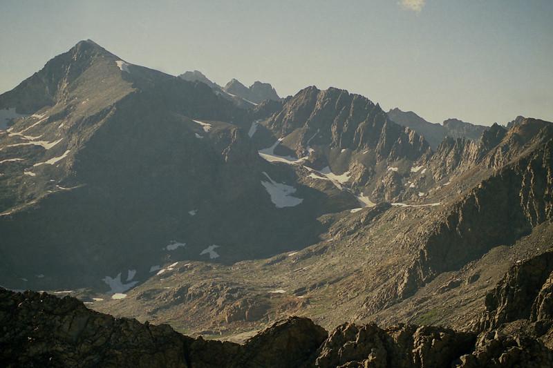 Electra Peak on the Left
