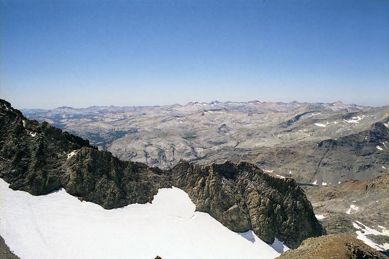 The Western ridge of Mt Ritter