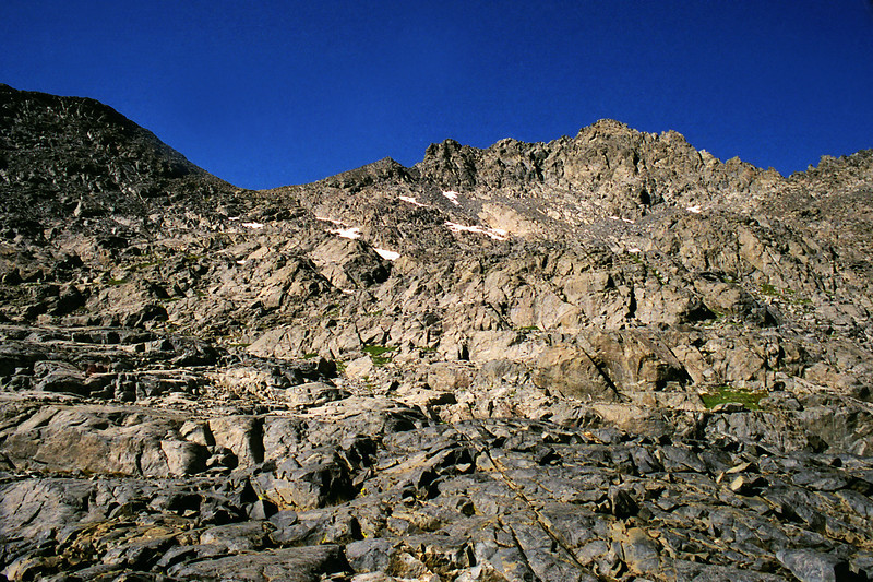 The South side of the Ritter Range