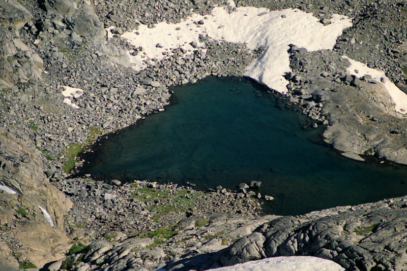 The small Lake that Lake Catherine feeds into