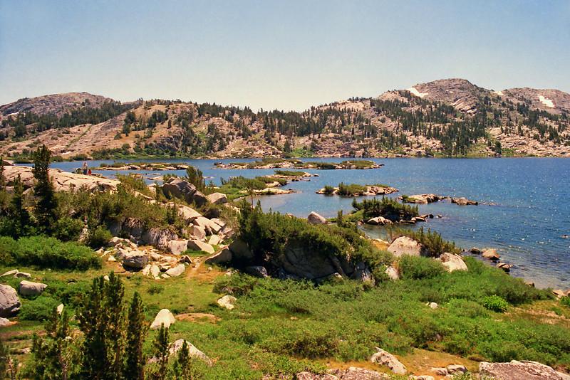East end of Thousand Island Lake