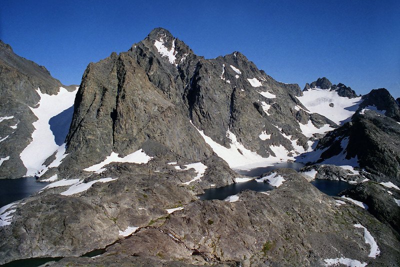 Mt Ritter and the Ritter Lakes