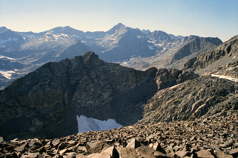 Whats West of the ridge West of Lake Catherine