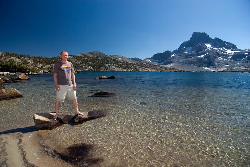 Ben at Thousand Island Lake