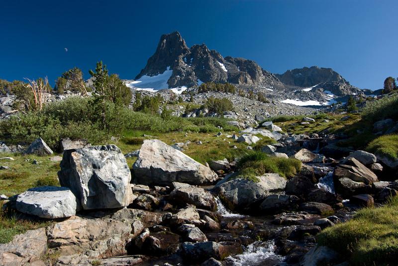 Banner Peak on the way to Lake Catherine