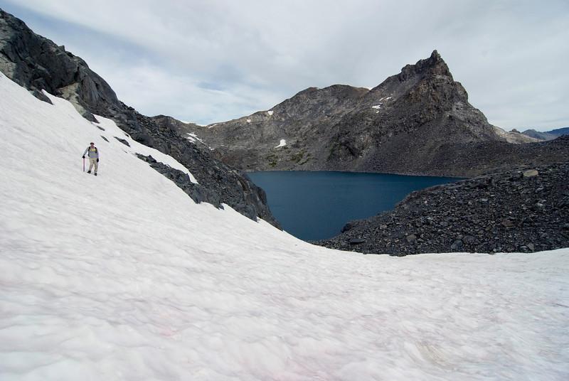 Ben on the Glacier