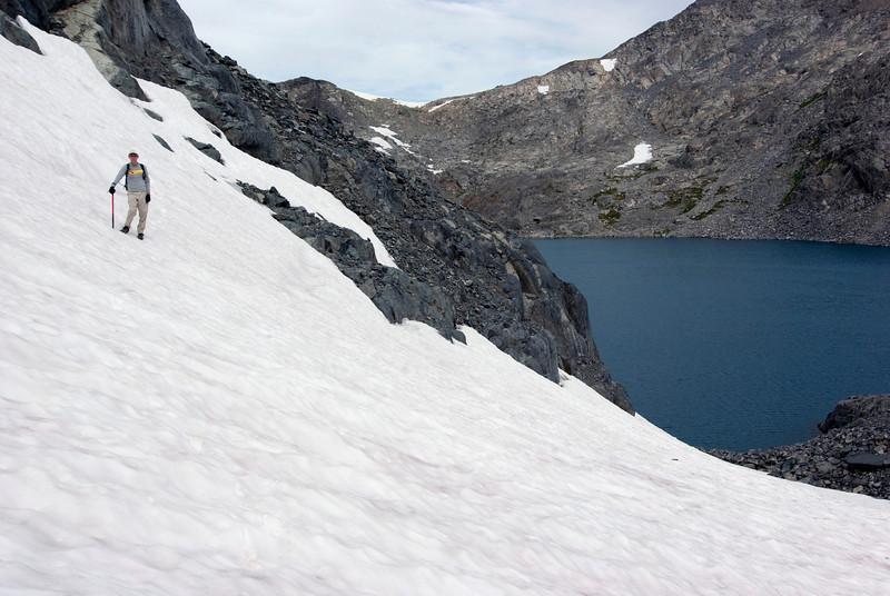 Ben on the Glacier, Close-Up