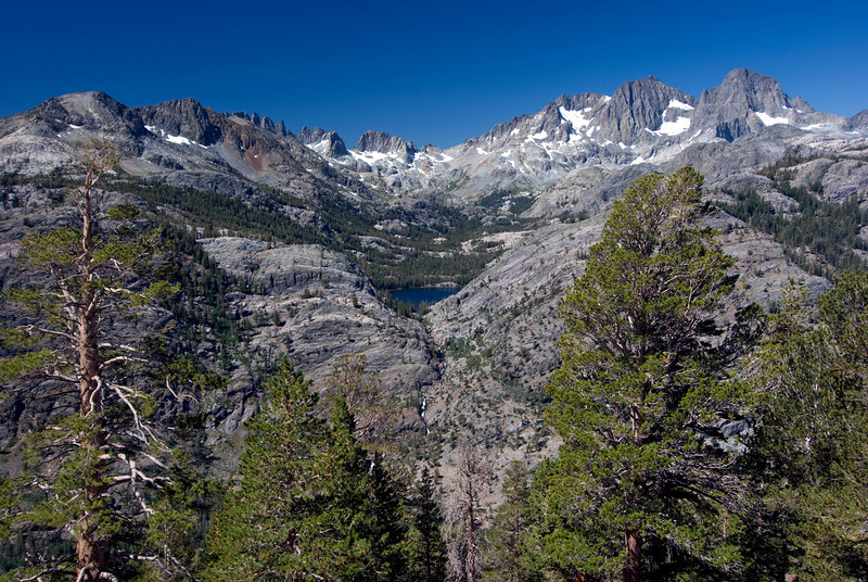 Shadow Lake form the High Trail