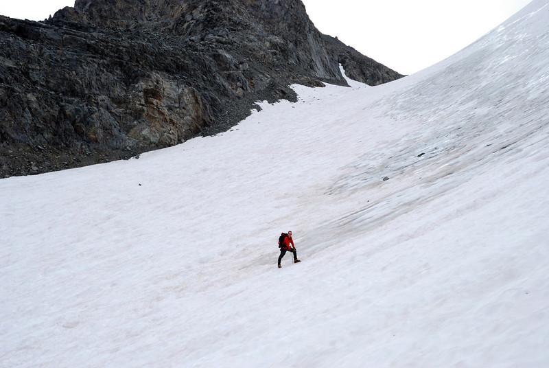David on the Glacier,  Picture By Ben Zastovnick