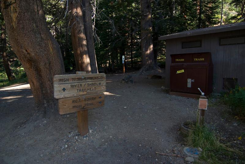 High Trail Trailhead