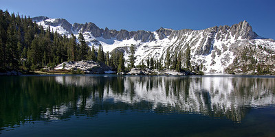 Looking across Big Margaret Lake  from the NE side of the Lake pic1