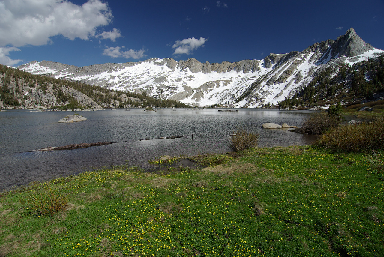 Big Margaret Lake & Silver Divide