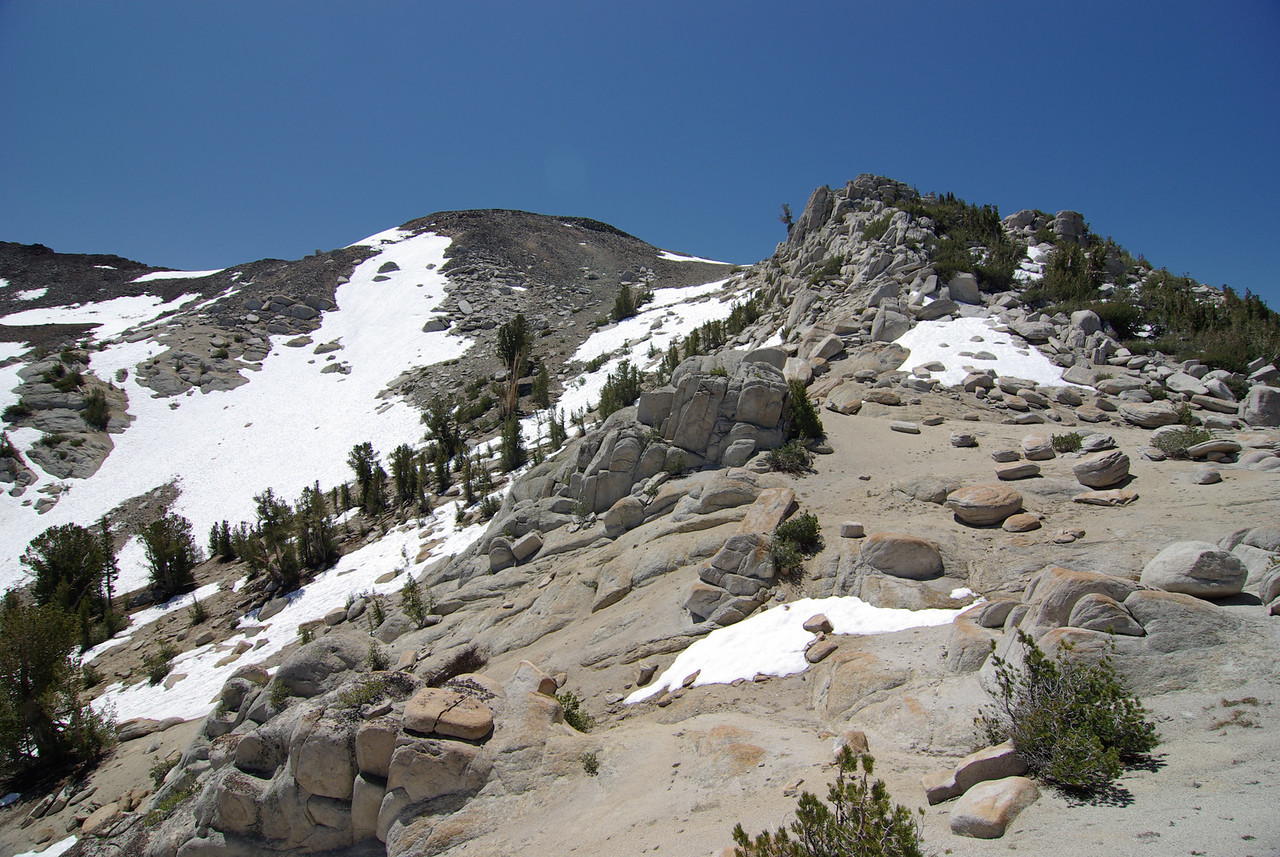 Looking Back towards Arch Rock Pass