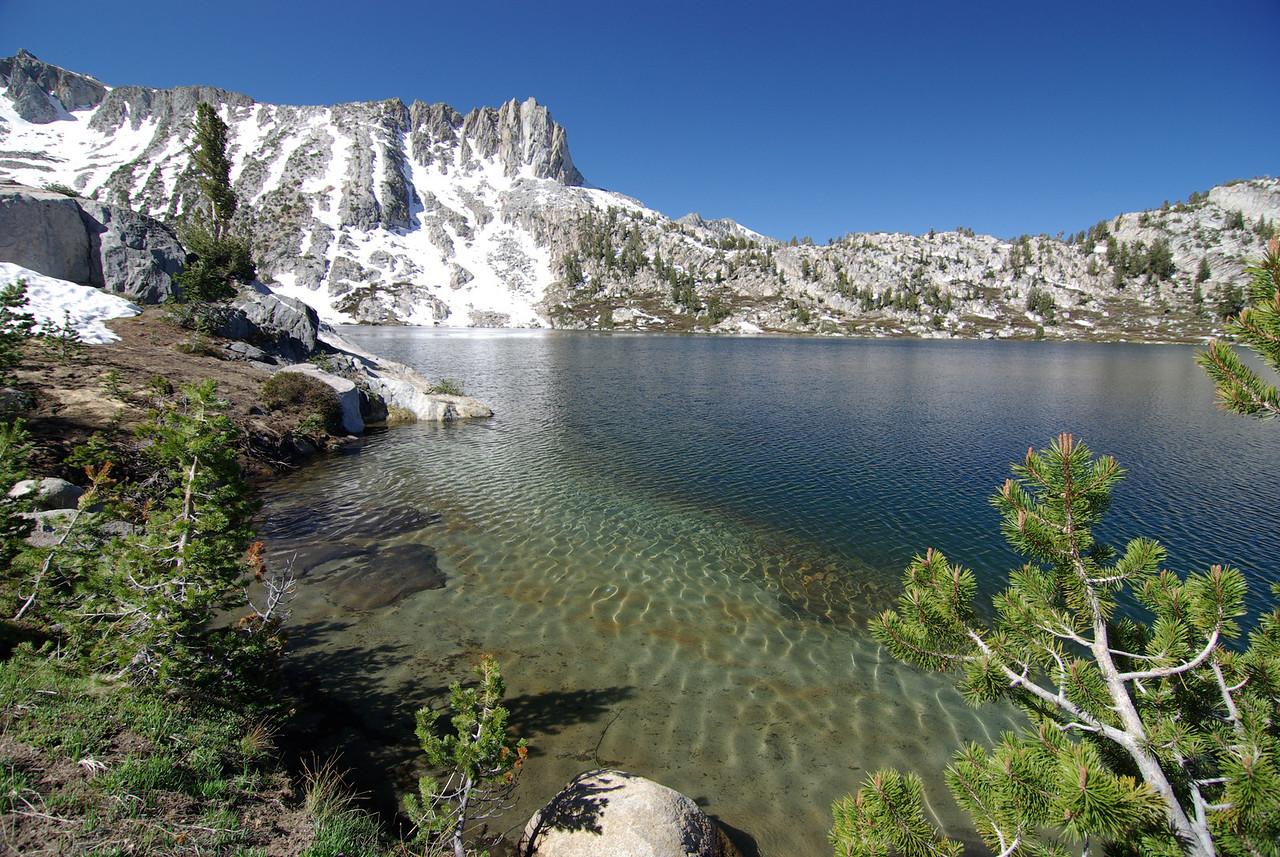 Nice Water--Big Margaret Lake East Shore