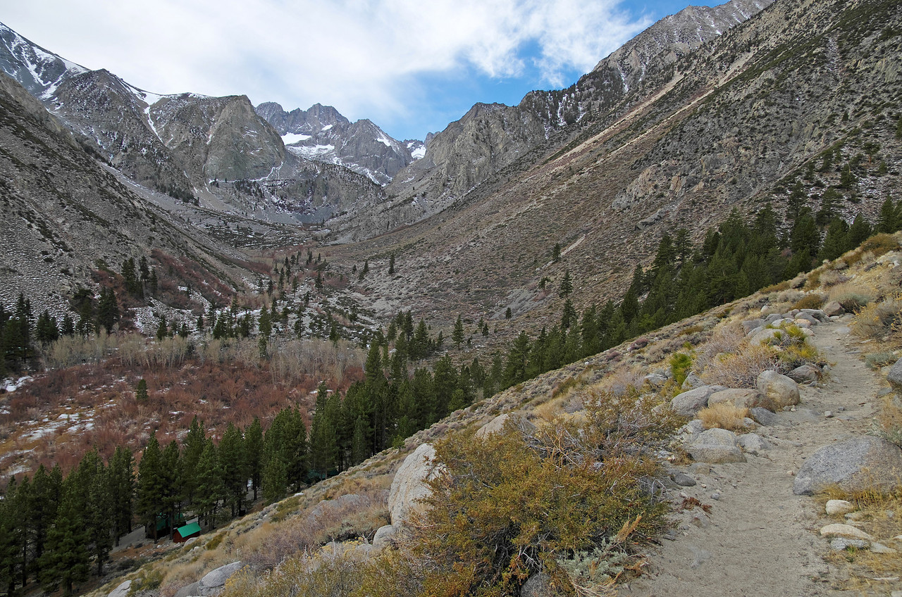 A look back towards the South Fork Trail from along the North Fork Trail~8,300ft.