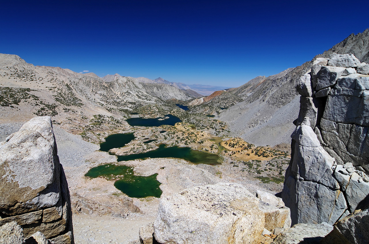 """""""Bishop Pass"""" a little over 12,000ft here where I snapped this shot."""