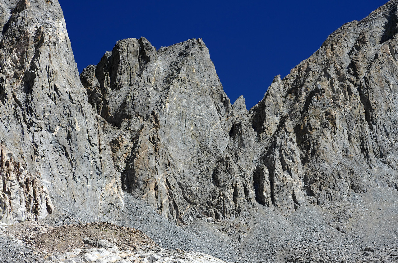 Thunderbolt Peak gets it's name for reasons you'll see in the next picture.
