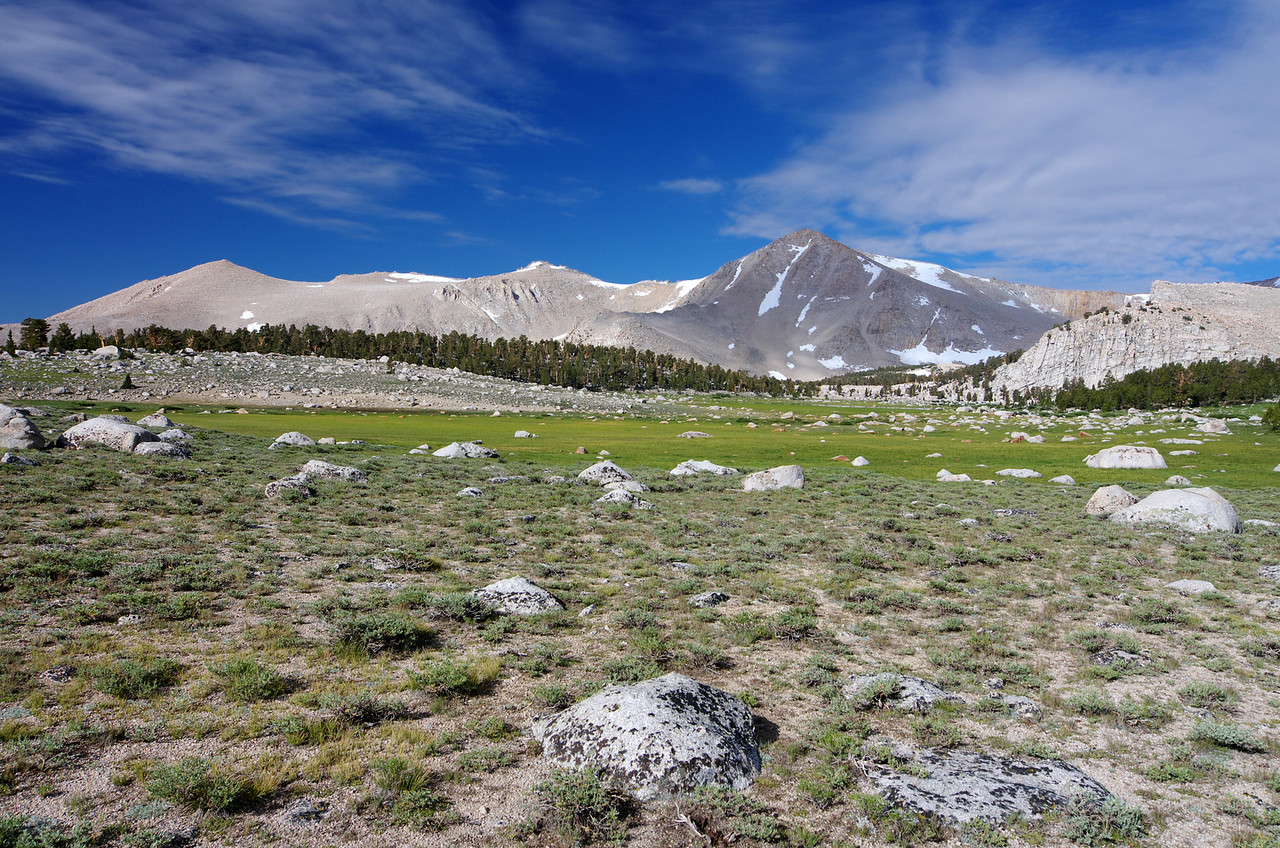 Looking towards New Army Pass.