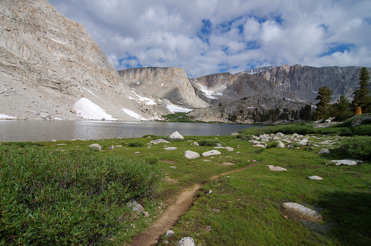 The Trail that goes along the East side of Cottonwood Lake #3-speculatively speaking.
