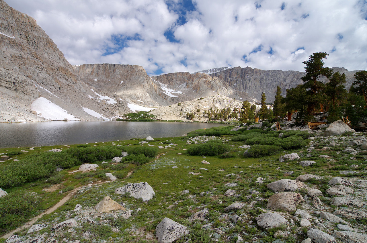 Looking North across Cottonwood Lake #3-speculatively speaking.