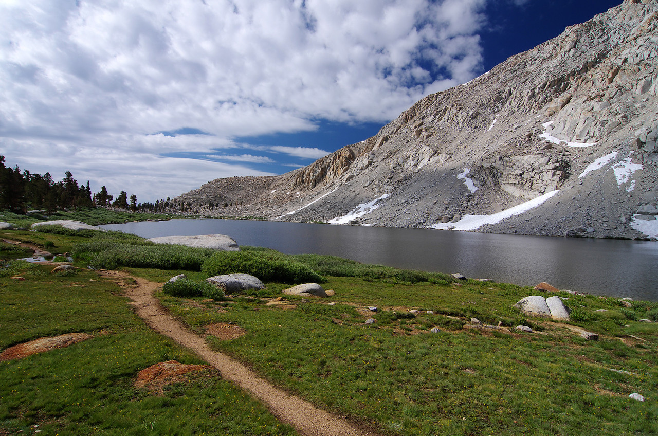 Looking South from near the Northerne end of Cottonwood Lake #3-speculatively speaking.