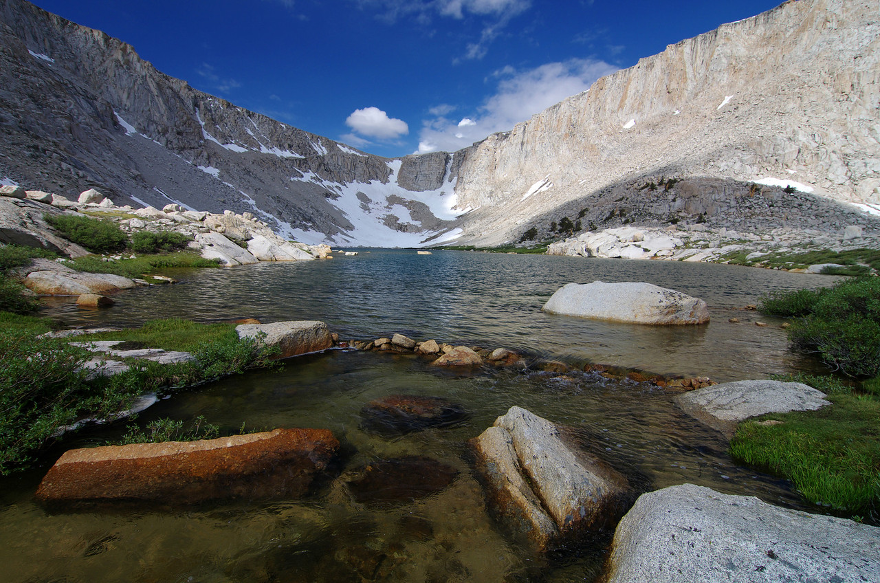 Cottonwood Lake #4 with Army Pass in the Background.