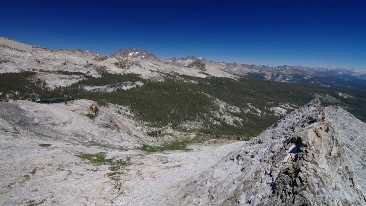 360 pan from peak above Joe Crane Lake