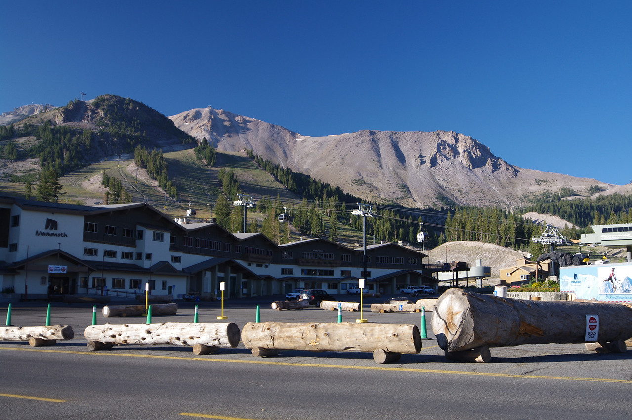 Mammoth Mountain as seen from the Ski Resort