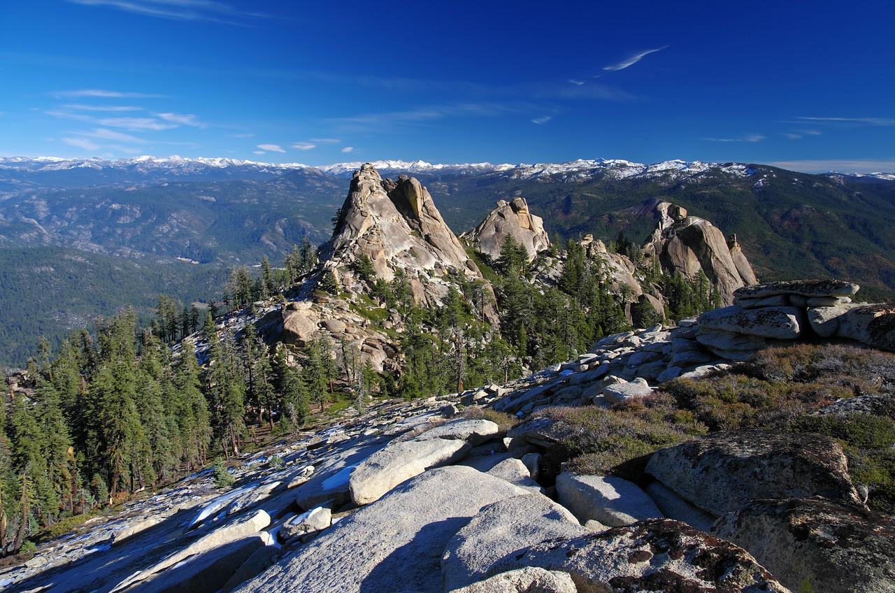 The Eagle Beak Peaks.