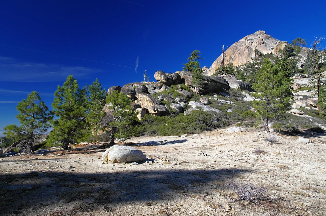 Shuteye Pass ~7,350ft.