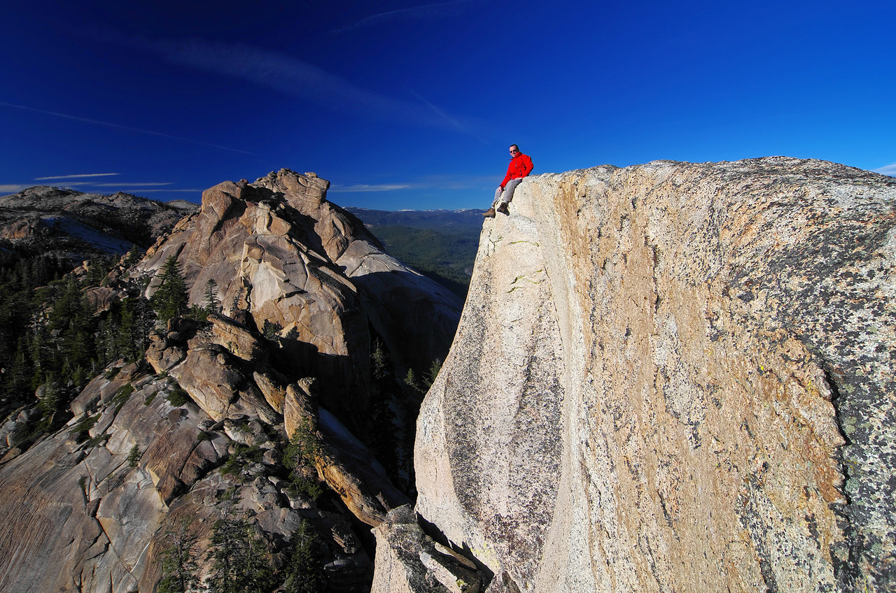 Me atop of the lower Eagle Beak Peak~7,815ft, 11/25/2012.