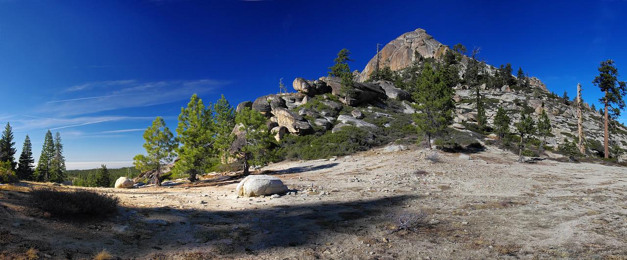 Shuteye Pass Panorama~7,350ft.