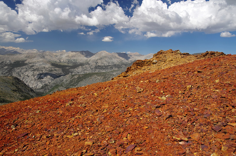Near the summit of Red Mtn looking NE.