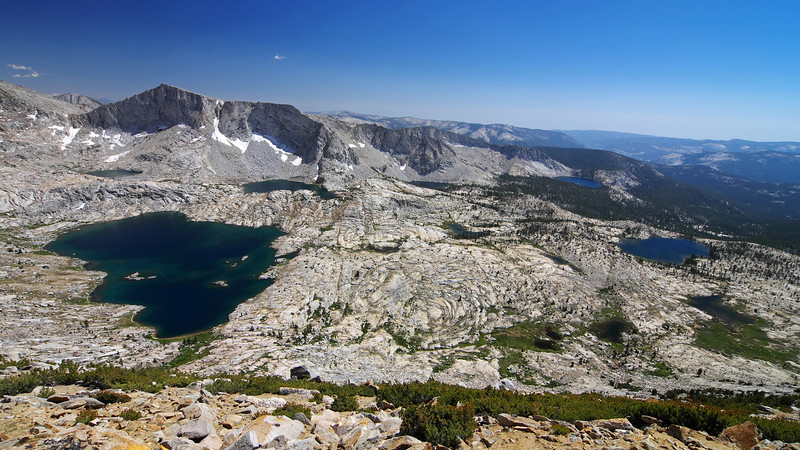 Overlooking the Red Mtn Basin