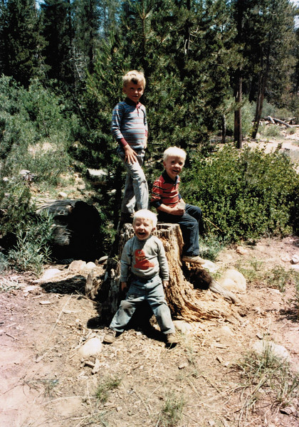 My brothers and I @ Granite Creek 1987.