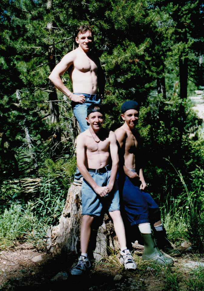 My brothers and I @ Granite Creek 1996.