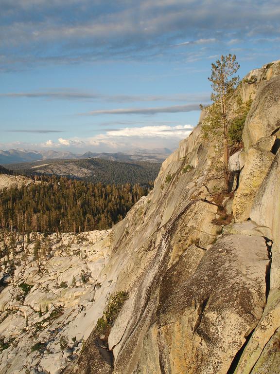 Rock Formation Near Island Lake