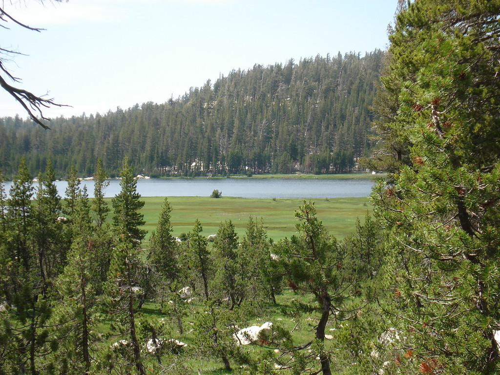 View of the 1st Dinkey Lake