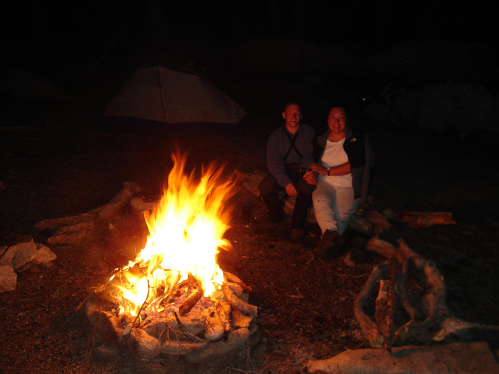 David & Veronica enjoying the fire pic1