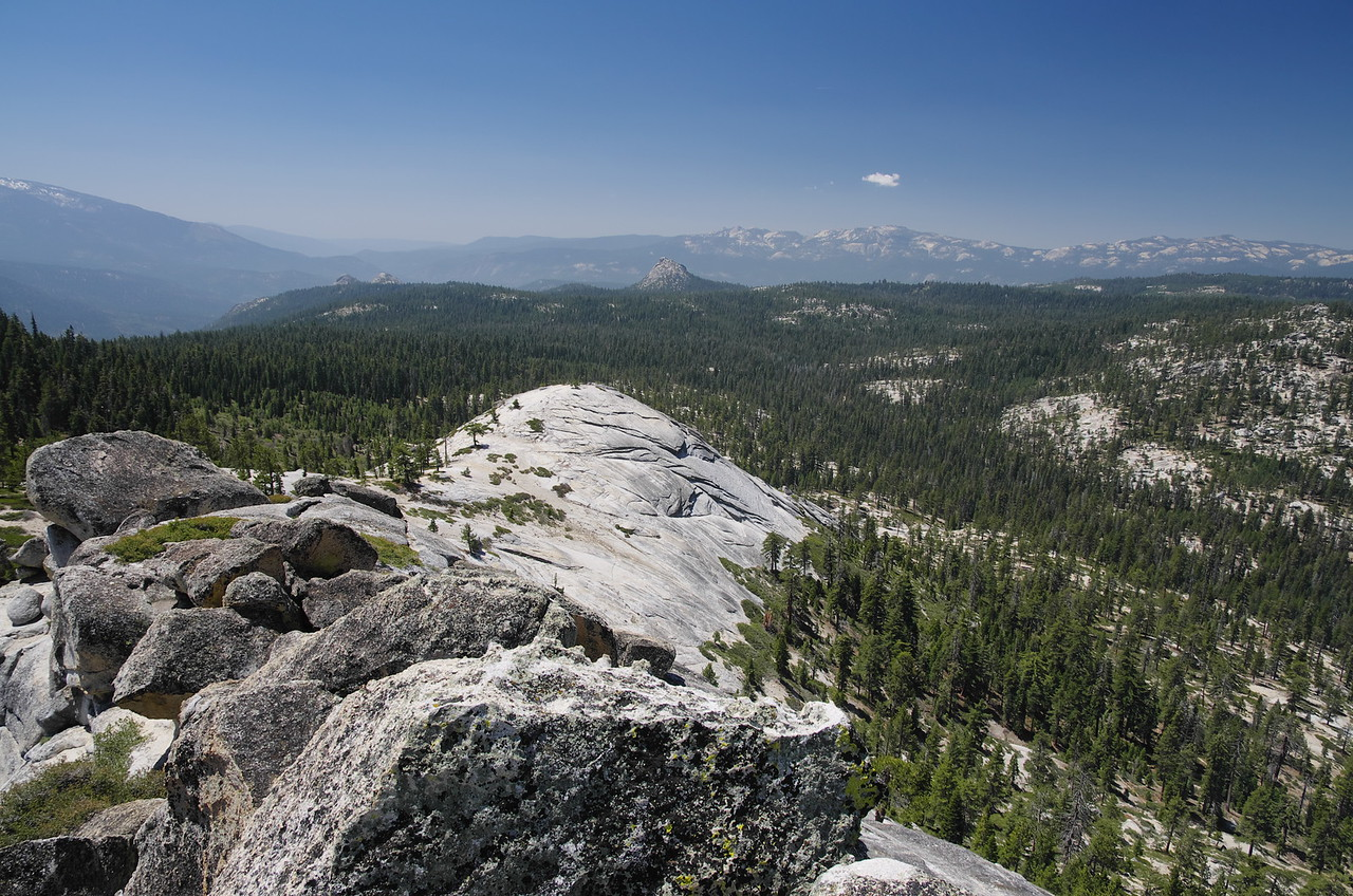 A peak that I climbed twice in 1998 and thought was Squaw Dome.  Squaw Dome is a little more technical~Class 3-4