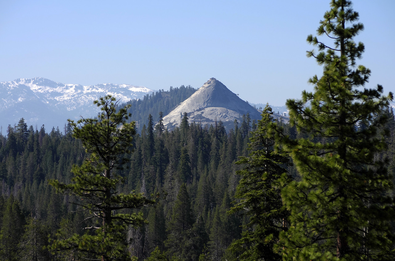 "Squaw Dome as seen from ""Cell-Rock."""
