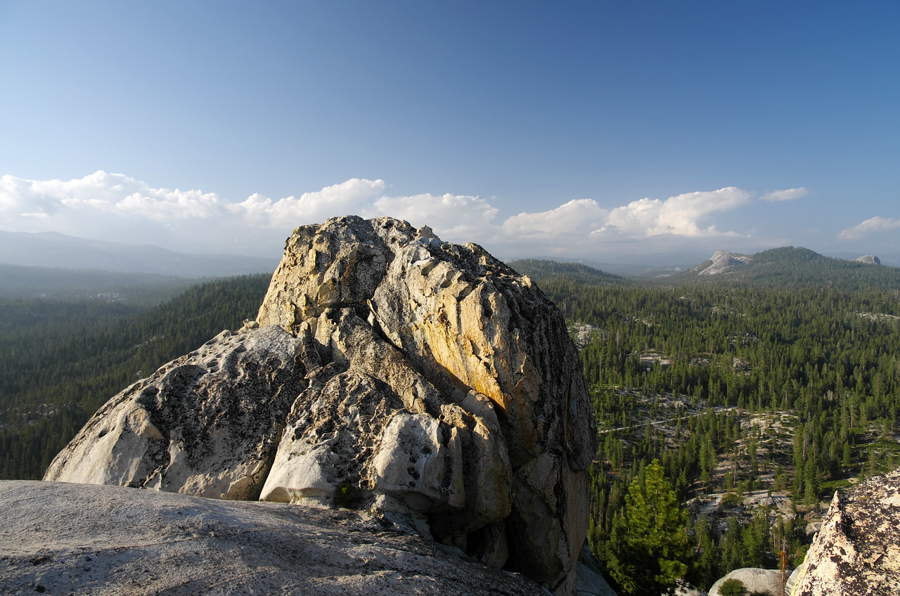 The Southern summit of Jackass Rock.