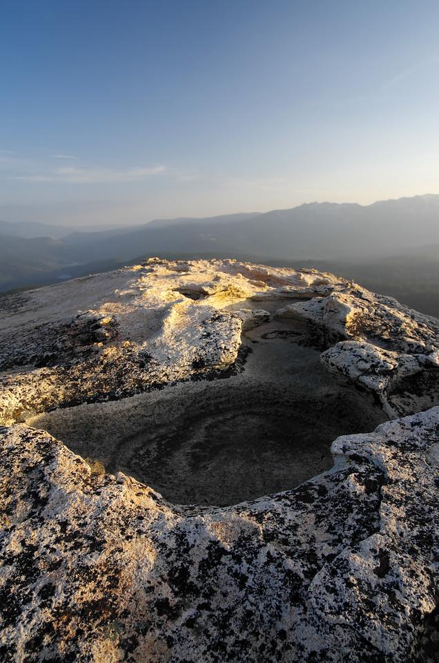 More wierd rock formations all over the top of Jackass Rock.