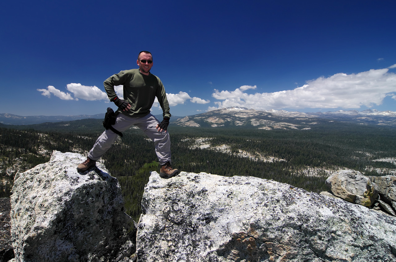 Me atop of Squaw Dome~7,818ft.