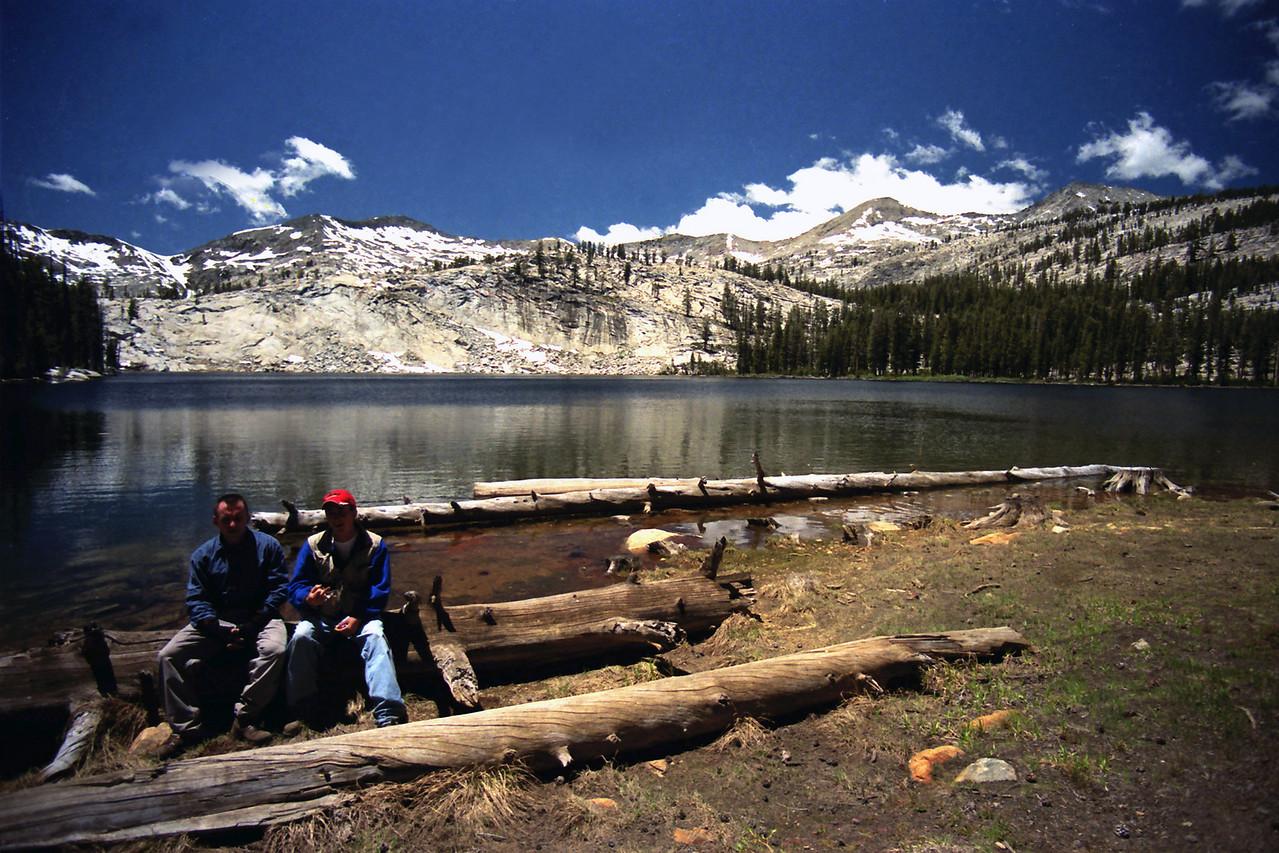 David & Jason @ Lilian Lake