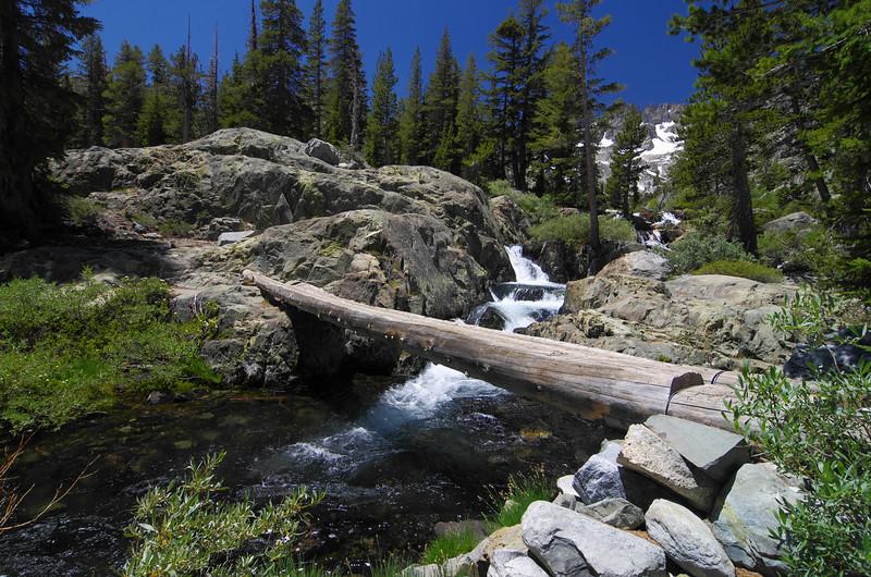 Where the Shadow Creek Trail crosses Shadow Creek.