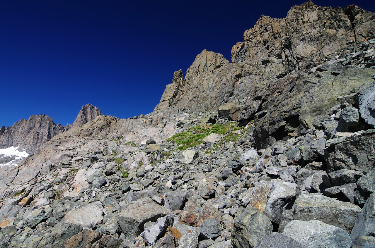 The landscape is rugged in the higher elevations of this area is an understatement.